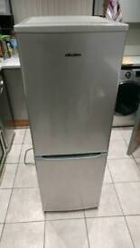 Bush small factor fridge freezer silver