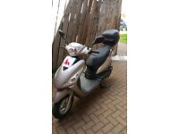 Nipponia Miro 125 low mileage excellent condition with extras including security alarm