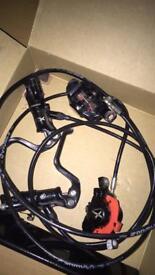 Hydraulic brakes formula rx
