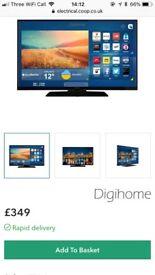 Digihome Black 49inch 4K Ultra HD HDR Smart TV