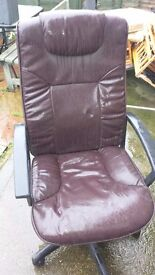 brown office chair good condition only £7.00