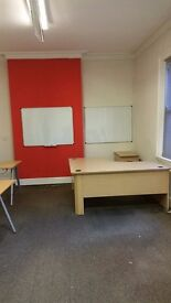 330sq ft office near Walsall town centre with 4 work stations- 24 hour access-All bills included