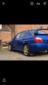 Subaru Impreza wrx sti type uk ppp 74k