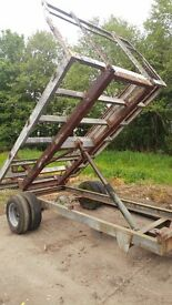 Small Tipping Trailer