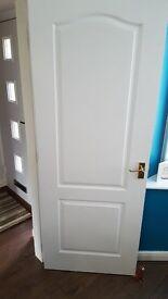 Internal wooden doors with handles hinges etc