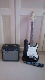 Fender Squier Stratocaster 20th Anniversary Special.