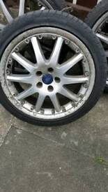 """18"""" mondeo wheels and tyres"""