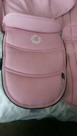 Bugaboo bee 3 pastel pink carrycot apron