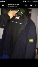 stone island jacket like new