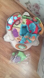 Fisher price jumparoo baby bouncer excellent condition working