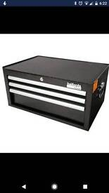 Halfords industrial tool box 3 drawer