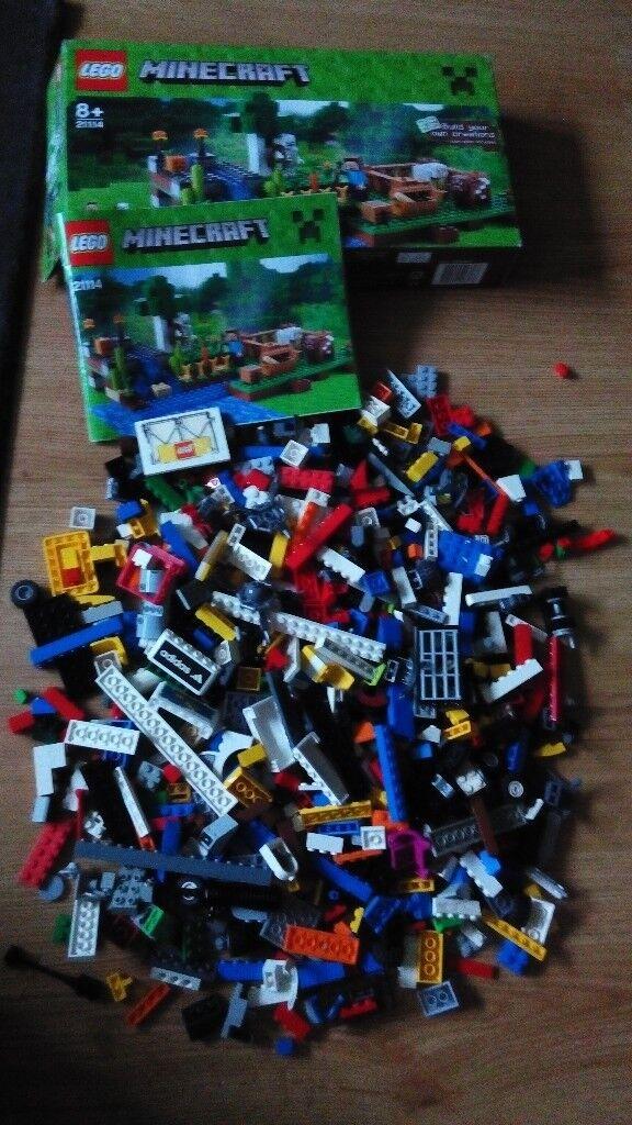 1kg Lego Bundle Mixed Bricks Parts Pieces Job Lotempty Box And
