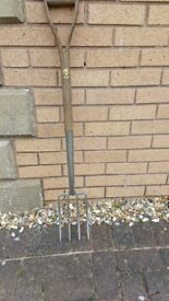 Garden fork. Stainless steel. Joseph Bentley.
