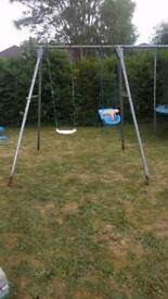 Tp swing frame with extension pole + swing and baby swing