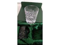 Lead Crystal Glasses Set - 4 glasses