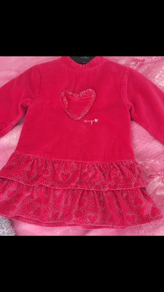 Agatha Ruiz De La Prada Dress & Tights age 12 months