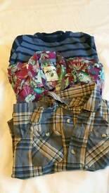 Shirts and jumper bundle, 4-5yrs