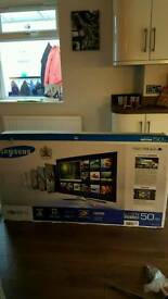 50' Samsung LED 3D Smart TV for spares or repairs