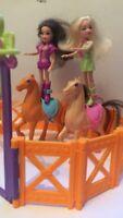 Polly Pocket - Pferde und Puppen mit Gatter Hessen - Seligenstadt Vorschau
