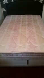 Double bed with storage compartment. Excellent condition. Collection only