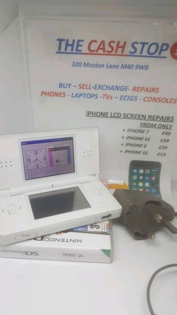 Nintendo DS Lite White Bundle