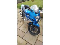 Suzuki gsx650f Ideal bike for any rider, custom exhaust, absolute bargain, need it gone asap!