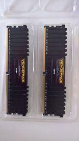 16GB (2x8GB) Corsair Vengeance LPX 2133MHz
