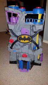 Kids Batman Bat Cave. Cost £50 in good condition.