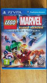 PS vita Sony games. Marvel & Chimira Lego.