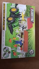 18pc farm yard set