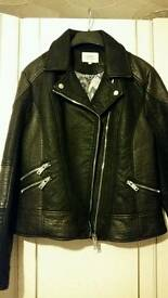 Womans leather jacket reduced