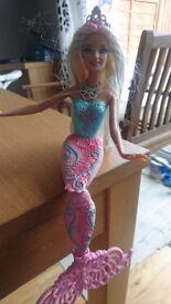 Barbie marmaid bath toy