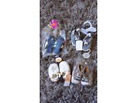 Bundle of NEW baby shoes