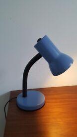 Blue Desk Lamp
