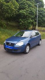 Vw polo 1.2 petrol only 33000 miles on clock its a 55plate 12months mot full service history