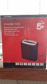 Paper shredder 5* CC8