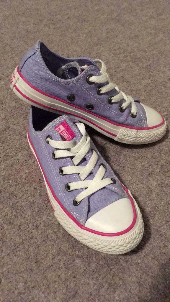 980025a72d0e Girls converse trainers