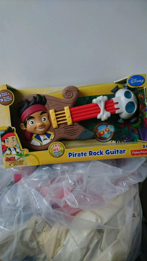 Jake and the neverland pirate guitar