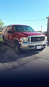 2002 ford excursion limited 7.3l diesel