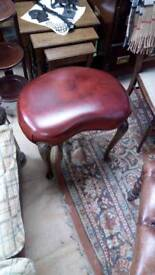 Kidney chesterfield stool