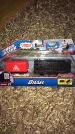 Boxed Thomas Trackmaster Diesal Train