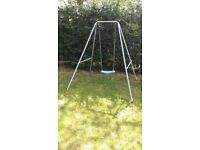 TP Swing and 8ft Plum Trampoline