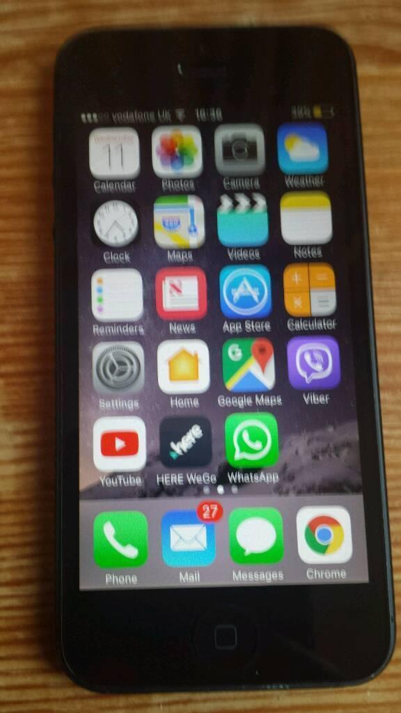 Iphone 5 64gb on Vodafone