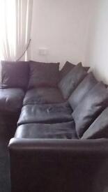 Corner Sofa (faux leather)