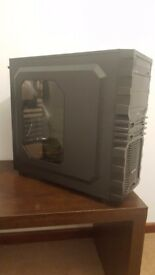 Gaming PC Case with DVD drive