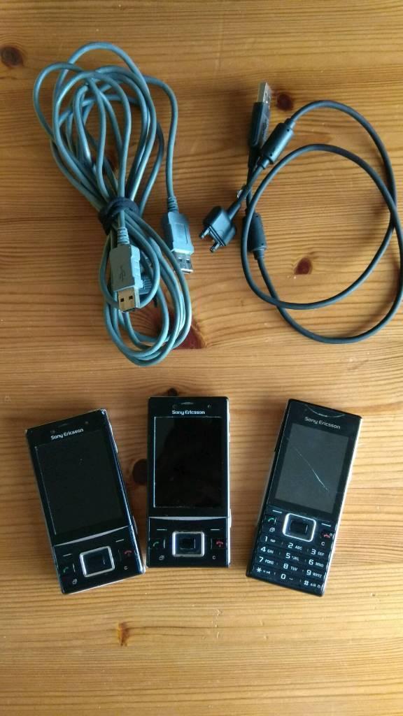 Old school Sony Ericsson's