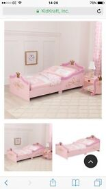 BNIB Kidcraft princess toddler bed