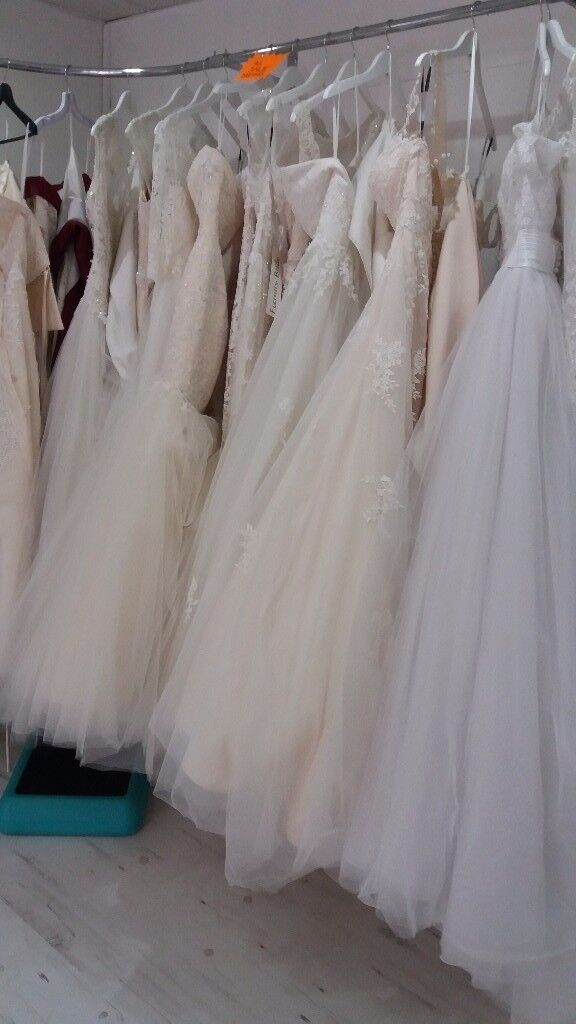14 wedding dresses for sale . Ideal for start up new business all in excellent condition