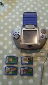 Leapfrog Leapster hand held gaming device
