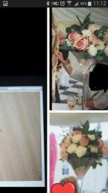 wedding flowers center piece